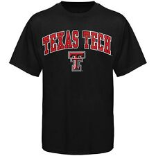 Texas Tech Red Raiders Black Arch Over Logo T-Shirt