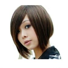 New Fashion Lady Short Straight Wigs Costume Cosplay Party Anime Full Wig+Gift