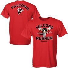 Atlanta Falcons Youth Red What's My Name T-Shirt