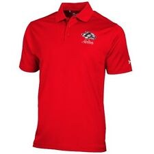 Under Armour New Mexico Lobos Cherry Solid Performance Polo