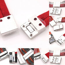 Lots 10 Sets Silver Plated Magnetic Clasps Connectors For Bracelet Findings DIY