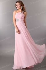 Women Plus Chiffon Bridesmaid Wedding Dress Prom Gown Ball Party Evening Formal