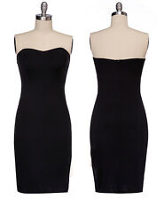 New Sexy Women Padded Stretch Dress Cocktail Evening Party Bodycon Pencil Dress