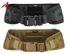ROGISI Tactical Military Airsoft Hunting CORDURA Molle Combat Waist Padded Belt