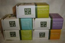 KISS MY FACE Pure & Natural From Greece SOAPS***U chOOse***FULL SIZES~NEW~SEALED