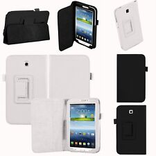 Leather Folding Stand Case For Samsung Galaxy TAB 3 7.0 inch Flip Book Cover