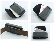 NEW - Classy - Premium Leather Belt Clip w/ Loops Cover Pouch Holster Case