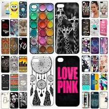 Pattern Hard Skin Case Cover Back Protector For iPhone 6 6plus 5 5s 5c 4 4s US-1