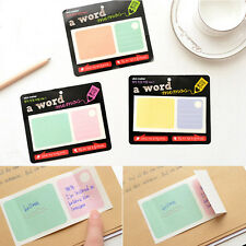 2015 New Memo Post It Notes Message Pad Label To Do List Sticky Notepad