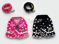 Cute Pet Puppy Dog Soft Mesh Collar Strap Vest Harness Apparel Size S-XL