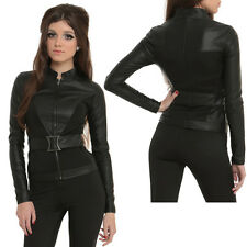 NEW Marvel By Her Universe BLACK WIDOW JACKET (Rare Sold Out)