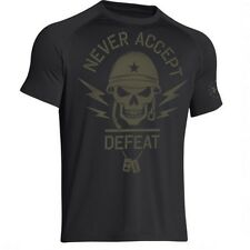 Under Armour 1258879 Men's Black UA Black OPS Fist Short Sleeve T-Shirt