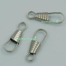 """1"""" 25mm Metal Lanyard Hooks Finding Clasps Key Chain Clips 4 Chain Link Wrist US"""