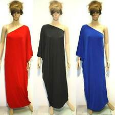 NWT Size S/M/L/XL NEW Womens One Shoulder Evening Party Full-Length Maxi Dresses
