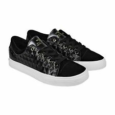 Creative Recreation Forlano Mens Black Suede & Leather Sneakers Shoes