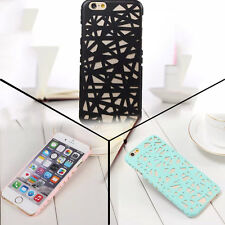 "Protect Skin For Apple iPhone 6 4.7""plus 5.5"" Pattern Case Cover Plaid Hard Back"