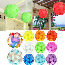 30 Elements Modern IQ Puzzle Jigsaw Light Lamp Shade Ceiling Lampshade S 25cm