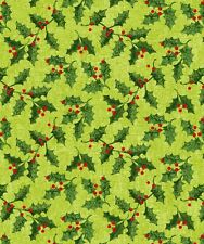 Holly Jolly by Studio E Quilt Fabric Fat Quarter