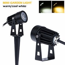 New 3W Waterproof Outdoor LED Landscape Light Garden Wall Yard AC/DC 12V 85-265V