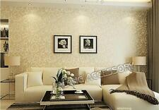 High Grade Style Roll Wall Paper Damask Victorian Embossed Textured Wallpaper  Z