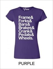 Frame&forks&bars&brakes&crank&pedals&wheels para mujer de Superdry Mtb Ciclismo BNWT