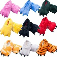 Men/Women Adult Animal Shoes Slippers Paw Claw Kigurumi Pajamas Onesie Cosplay