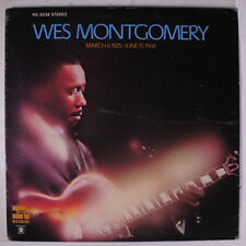 WES MONTGOMERY: March 6, 1925 - June 15, 1968 LP (gatefold cover, drill hole, c