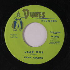 CAROL COLLINS: Dear One / Johnny, Oh Johnny 45 Oldies