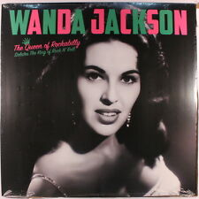 WANDA JACKSON: The Queen Of Rockabilly Salutes The King Of Rock N' Roll LP Rock