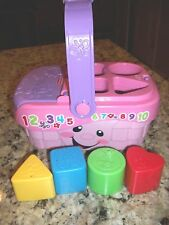 Fisher-Price Laugh & Learn Sweet Sounds Picnic gently used baby preschool toy