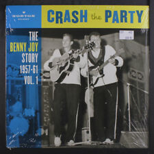 BENNY JOY: Crash The Party- The Benny Joy Story Vol. One LP Sealed Oldies