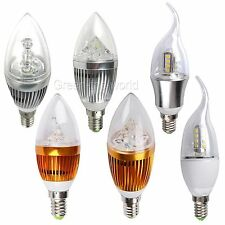 E14 12W 9W LED Candle Chandelier Light Bulb Lamp Warm Cool White Energy Saving