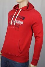Polo Ralph Lauren Red Cotton Hoodie Pullover Sweatshirt NWT