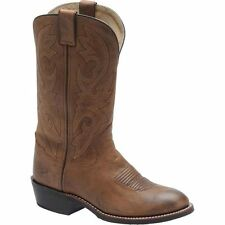 MEN'S DOUBLE H WESTERN BOOT STYLE DH2339! ALL SIZES! ROUND TOE! NIB! RUBBER SOLE