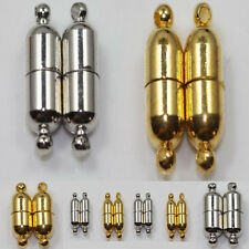 10 Sets Silver/Golden Plated Powerful Magnetic Clasps Jewelry Findings DIY 19mm