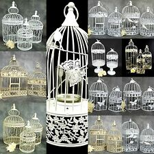 Decorative Bird Cage  Wedding Table Centrepiece Bird Cages Birdcage White Cream