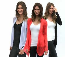 NEW LIGHTWEIGHT FLYAWAY CARDIGAN WITH POCKETS - 20 COLORS - USA SELLER