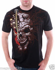 Artful Couture T-Shirt Tattoo Rock AB76 Sz M L XL XXL Skull Guitar Biker mma