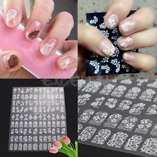 Hot 108PCS 3D Decal Stickers Nail Art Tip DIY Decoration Stamping Manicure Tools