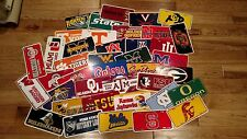 College Sports Teams Licence Plates Basketball Football NCAA 12X6 University