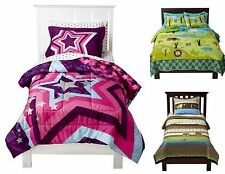 NEW CIRCO FULL QUEEN QUILT & 2 SHAMS SET STAR POWER BACKYARD FRIENDS WILD SAFARI