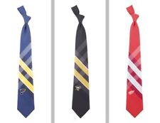 Choose Your NHL Hockey Team 100% Woven Polyester Grid Neck Tie by Eagles Wings