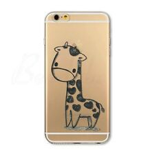 Fashion Pattern Clear Soft Slim TPU Case Cover For iPhone 4 4S 5 5S 5C 6 6Plus