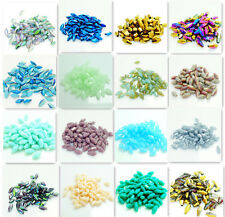Wholesale 72PCS Facet Bicone Crystal Glass jade Loose Spacer Bead 4*8mm 60 color