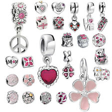 HOT European Crystal bead for 925 sterling silver charms bracelet necklace CA-GD