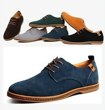 Fashion England Mens Suede Casual Formal Lace Up Warm Shoes Oxfords US6 - US13
