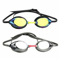Adjustable Eye Protect Adult Anti-fog UV Protection Swimming Swim Goggle Glasses