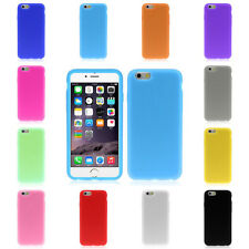Colorful NEW Rubber Silicone Soft Gel Skin Case Cover For iphone 6 6G 4.7 Inch