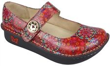 WOMEN'S ALEGRIA PALOMA RED BLOOM MARY JANE SHOE! STYLE PAL-393
