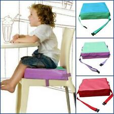NEW Practical Portable Kids Dining Chair Booster Cushion Soft Baby Booster Seats